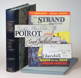 """Queen of the Seas"" by Winston S. Churchill and ""Poirot and the Triangle at Rhodes"" by Agatha..."