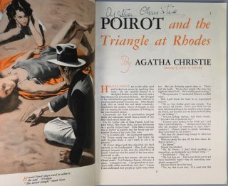 """Queen of the Seas"" by Winston S. Churchill and ""Poirot and the Triangle at Rhodes"" by Agatha Christie in The Strand Magazine, May 1936"