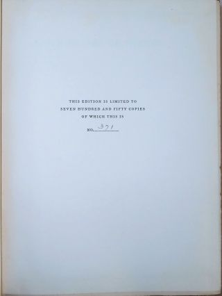 Seven Pillars of Wisdom, the U.S. publisher's quarter leather limited edition, copy #371 of 750, in the publisher's dust jacket and slipcase