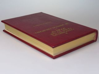 A Connoisseur's Guide to the Books of Sir Winston Churchill, the limited, numbered, and finely bound issue of the first edition, copy #31 inscribed and dated by the author on the Omdurman Centenary, 2 September 1998