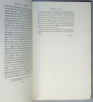 The New Examen, the publisher's Limited Edition, signed by Winston Churchill, bound by Sangorski & Sutcliffe, copy 39 of 50