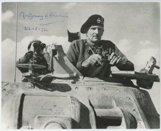 """MONTY IN THE WESTERN DESERT"" - a 5 November 1942 Second World War image of then-General Bernard..."