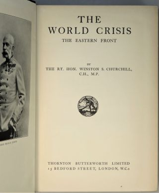 The World Crisis: The Eastern Front