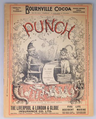 Punch, or The London Charivari, No. 4147, Volume CLIX, December 29, 1920