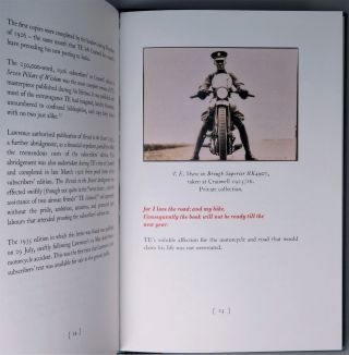 A Fresh Station: T. E. Lawrence writing and riding at Cranwell