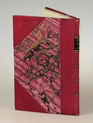 Painting as a Pastime, the first edition, finely bound