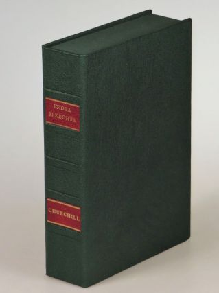 India, the wraps issues of both the first and second printings, both housed in a two-chambered morocco Solander case