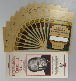 Winston Churchill, The Official Biography, complete in 12 volumes