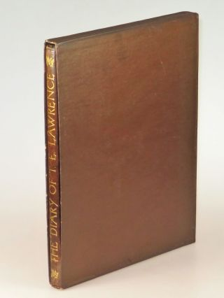 The Diary of T. E. Lawrence, copy #92 of the extraordinary limited edition