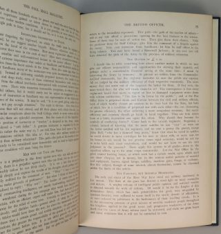 """""""The British Officer"""" in Pall Mall Magazine, January 1901, privately and separately bound"""