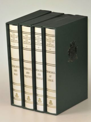The Collected Works of Sir Winston S. Churchill, complete in 38 volumes, including The Collected Essays