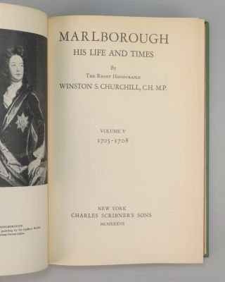 Marlborough: His Life and Times, Volume V, The Years of Mastery, 1705-1708