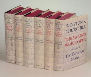The Second World War, full set of six British first editions. Winston S. Churchill
