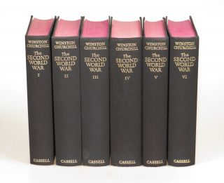 The Second World War, full set of six British first editions