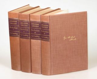 Abraham Lincoln, The War Years, complete in four volumes