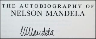 Long Walk to Freedom, the British first edition in a magnificent fine binding and signed by Mandela