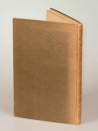 A Boy's Will, the first binding state of the first edition, signed by Frost