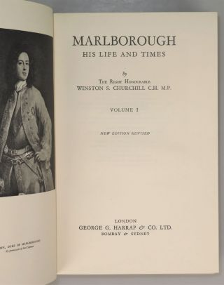 """Marlborough: His Life and Times, """"Limited Presentation Edition"""""""