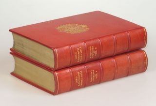 Lord Randolph Churchill, finely bound in full Niger Morocco for Henry Sotheran Ltd.