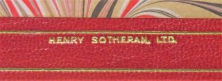 My Early Life, finely bound in full Niger Morocco for Henry Sotheran, Ltd.