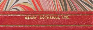 Great Contemporaries, finely bound in full Niger Morocco for Henry Sotheran, Ltd.