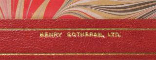 Step By Step, finely bound in full Niger Morocco for Henry Sotheran, Ltd.