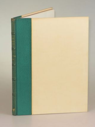 The Arab War, copy Number 59 accompanied by the original glassine dust wrapper and slipcase