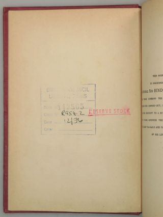 The Story of the Malakand Field Force: An Episode of Frontier War, a scarce binding variant with interesting provenance, including both the author's alma mater and the British embassy in Paris