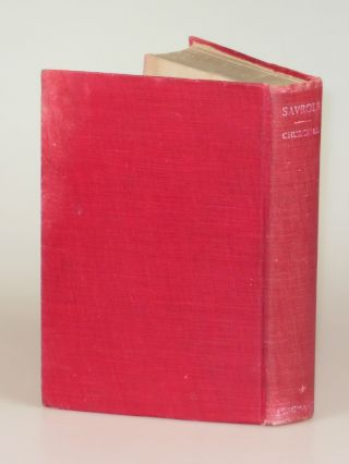 Savrola, in the scarce red variant binding