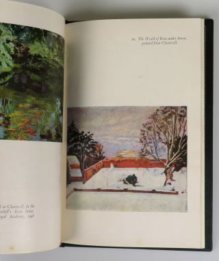 Painting as a Pastime, a presentation copy inscribed and dated by Churchill in 1952 during his second and final premiership, finely bound in full Morocco