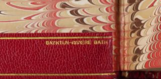 London to Ladysmith via Pretoria and Ian Hamilton's March - Churchill's two books about his famously dramatic Boer War experience, each volume bound in matching full red Morocco goatskin by Bayntun-Riviere