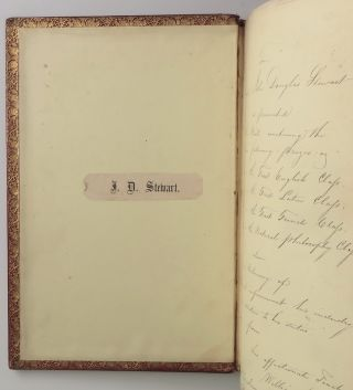 The Poetical Works of Lord Byron, a finely bound, contemporary school prize presentation copy