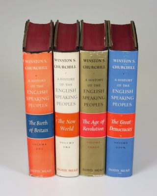 A History of the English-Speaking Peoples, full set of U.S. first editions